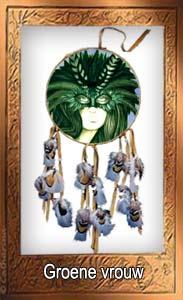 Groene vrouw sjamanisme for Tuin lenormand